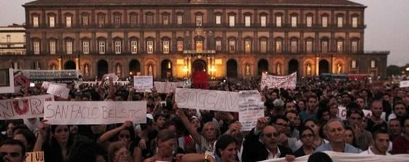 Manifestazione Napoli contro Terra Fuochi TMN 640
