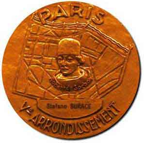 Medalla Sorbonne (Recto)