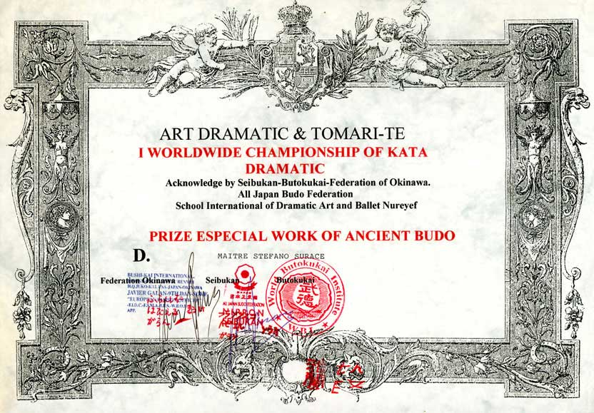 Art Dramatic et Tomari Te