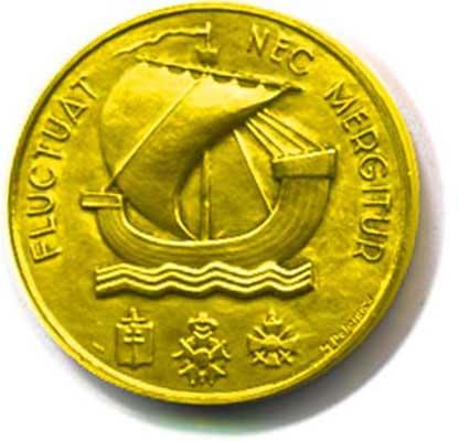 Medal Sorbonne (Recto)